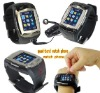 007+ 2MP pinhole camera watch phone,quad band watch phone, bluetooth headset and 1GB