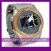 1.2 Inch Stainless Steel Watch Phone W980 With Camera