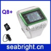 1.3 inch QVGA TFT touch scteen dual sim Bluetooth watch mobile cell phone Q8