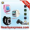 1.5 inch flat touch screen 2011 Wrist Watch Phone with FM Camera Mp3 Video in EU Version
