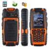 "1.8"" single Sim rough Waterproof + Dustproof + Shockproof GSM Phone with Camera S8 Orange"
