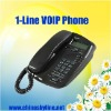 1 channel voip phone,EP636,support sip and H.323