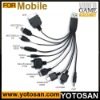 10 in 1 USB Universal multi charger cable for Mobile Phone