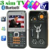 2.2'' TV FM Triple Sim QWERTY Keyboard dual camera Cell Phone F31
