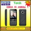 2.4'' LCD Bluetooth FM Touch Screen GSM CDMA450 Mobile Phone