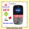 2.4 inch 3G phone A810 with Android OS