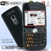 2.4 inch touch screen C8000 wifi TV phone with Qwerty keyboard