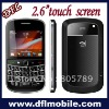 2.6inch tv mobile phones 9900 with dual camera