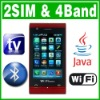 2''  Dual SIM Dual Standby 2 Camera Java Wifi TV phone