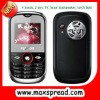 2 sim card cell phone with large loudspeaker , torch light,