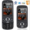 "2"" three SIM three Standby Slide Mobile Phone Bluetooth TV+ FM W20 Black"