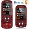 "2"" triple SIM Slide GSM Phone unlocked Bluetooth TV+ FM W20 red"