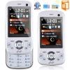 """2"""" triple SIM Slide Mobile Phone unlocked Bluetooth TV+ FM W20 white"""