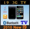2010 new i9 3g tv dual sim card mobile phone(full touch screen)