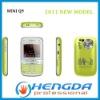 2011 3 sim card cell phone mini Q9