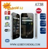 2011 A738 android 2.2 cellphone