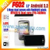 2011 Android dual core mobile phone F602
