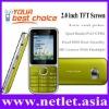 2011 China OEM China Dual SIM GSM Mobile Phone