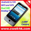 2011 Dual Sim Android GPS Mobile Phone