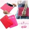 2011 Fashion Design Pretty File Leather Case Bag for ipad