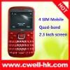 2011 Hot 4 SIM mobile phone
