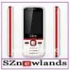 2011 July Newest Cheap Dual Sim Card Dual Camera Moble Phone With QuadBand FM JAVA MP3 MP4 Support Portuguese Spanish