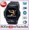 2011 Newest Wrist Watch Mobile Phone W960 Unlocked QuadBand Stainless Steel Touch Screen MP3/MP4 FM Cell Phone Watch W960
