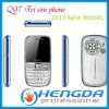 2011  Q97 Wifi TV Cellphone 3 SIM Card 3 Standby