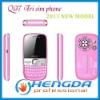 2011  Q97 Wifi TV Java Tri 3 SIM Cards Mobile Phone(6 Colors)