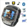 2011 Quadband  Bluetooth+MP3 Camera Touch Screen Mobile Phone Watch