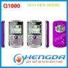 2011 Three Sim Card mobile phone Q1000