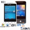 2011 W81 cheap windows celluar phone gps