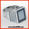 2011 cheap steel mobile phone watches with wifi/java/bluetoothe/FM/keypad