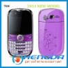 2011  cheapest WiFi TV qwerty handset phone T006