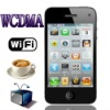 2011 hot sell dual sim WCDMA+ GSM 3G mobile phone W302D