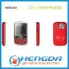 2011 mini Q9 3 sim mobile phone