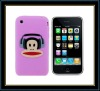 2011 new design of silicone cell phone cover for i-phone in factory price