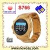 2011 new dual sim watch mobile S766