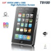2011 newest  tablets style 3.5inch touch screen T8100 wifi TV mobile phone