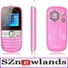 2012 Cheap China Mobile Phone Celular Q97 with 3 Chips Wifi Big Speaker Qwerty Keyboard Quad Band