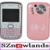2012 Cheapest 3 Chips Tv Celular Q9 Big Speaker Qwerty Keyboard Quad Band 3 Sim Tv Mobile Phone Q9