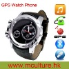 2012 NEW Stainless Steel K355 GPS tracker Wrist watch mobile phone