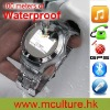 2012 NEW waterproof W968 watch phone with vedio audio Bluetooth function