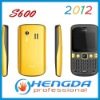 2012 S600 Cheap Dual SIM Mobile Phone