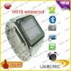 2012 brand new Waterproof watch mobile wrist phone
