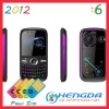 2012 cell phone 4 sim t6