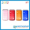 2012 flip top mobile phones F7