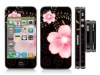 2012 latest new design PVC cartoon phone sticker