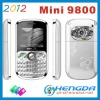 2012 mini 9800 3 sim card phone