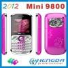 2012 mini 9800 triple sim card mobile phone